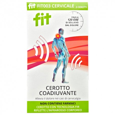 Fit Therapy Parches Cervicales 3 Unidades