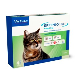 Comprar Effipro Duo Spot On Gatos 4 Pipetas