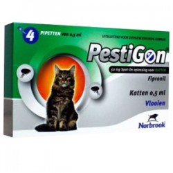 Comprar Pestigon Gatos 50mg 4 pipetas