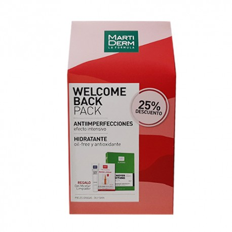 Martiderm Welcome Back Pack Antiimperfecciones & Hidratante