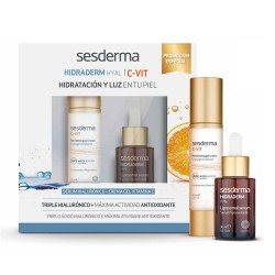 Sesderma Hidraderm Hyal Sérum 30ml + C-Vit Crema Gel 50ml