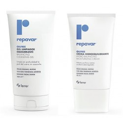 Repavar Oilfree Kit Dermo-Equilibrante Gel 150ml + Crema 50ml