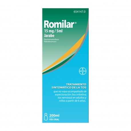 Romilar Jarabe 200 ml