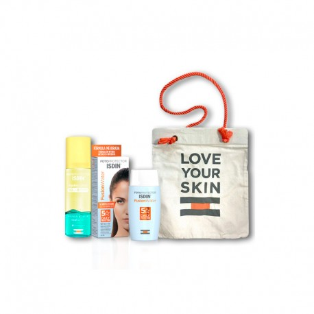 Isdin Pack Fusion Water SPF50 50ml + Fotoprotector Hidro Lotion SPF50 200ml + Regalo