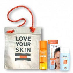 Comprar Isdin Pack Fotoprotector Fusion Water SPF50 50ml + HydroOil SPF30 200ml + Regalo Bolsa