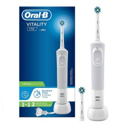 Comprar Oral-B Cepillo Recargable Vitality 170 CrossAction Blanco