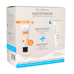 Comprar Neostrata Refine Salizinc Gel 50ml + Heliocare 360º Gel Oil Free SPF50 25ml