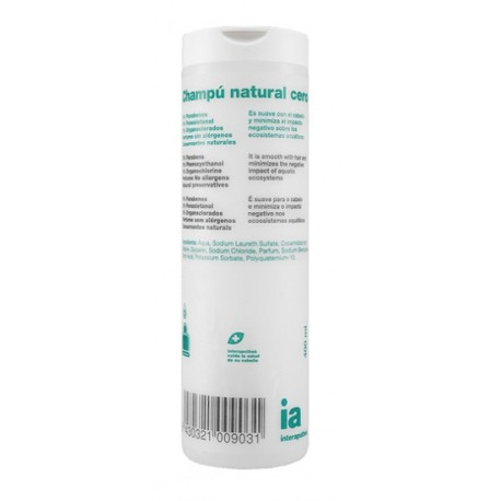 Interapothek Champú Cero 400 ml