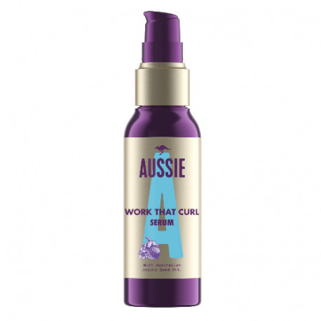 Aussie Serum Work That Curl 90ml