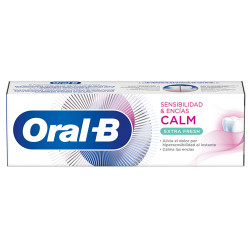 Comprar Oral-B Pasta Dental Sensibilidad y Encías Calm Extra Fresh 75ml