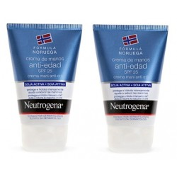 Comprar Neutrogena Crema Manos Anti-Edad Pack 2 x 50ml