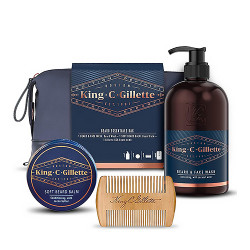 Gillette King C. Gillette Pack Esencial para Barbas