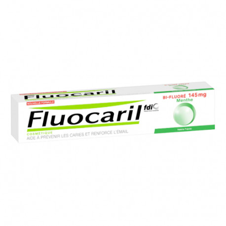 Fluocaril Pasta Bi-Flúor Menta 145mg 75ml