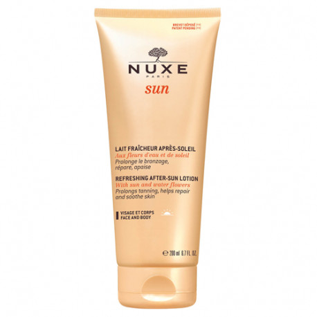 Nuxe Sun Leche Refrescante Facial y Corporal After Sun 200ml