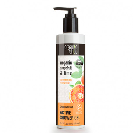 Organic Shop Gel de Ducha Tonificante Toque de Pomelo 280ml
