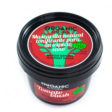 Organic Kitchen Mascarilla Facial Natural Tonificante Tomato Blush 100ml