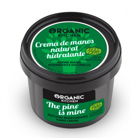 Organic Kitchen Crema de Manos Natural Hidratante This Pine Is Mine 100ml