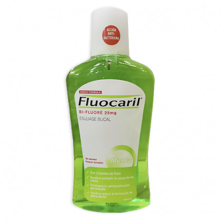 Fluocaril Bi-Fluoré Enjuague Bucal Anticaries 500ml