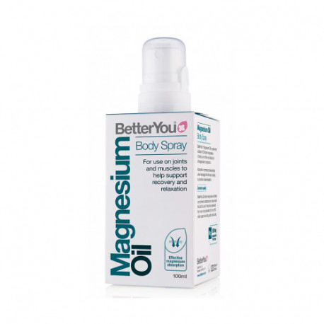 Better You Magnesio Aceite Spray Corporal 100ml