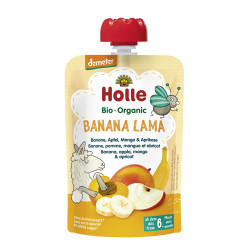 Comprar Holle Smoothie Banana Lama 100gr