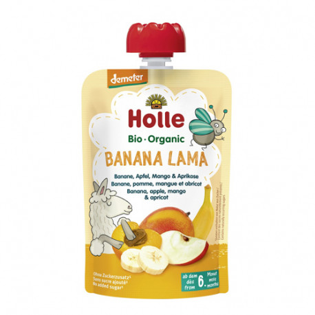 Holle Smoothie Banana Lama 100gr