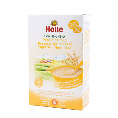 Holle Papilla Mijo Eco +4 Meses 250gr