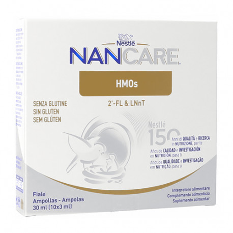 Nestlé NanCare HMOs 3ml 10 ampollas