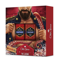 Comprar Old Spice Pack Dark Captain Desodorante Stick 50ml + Shower Gel 2-1 400ml
