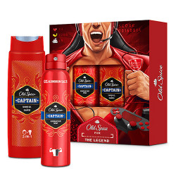 Comprar Old Spice Pack Gamer Desodorante Spray 150ml + Shower Gel 2-1 400ml
