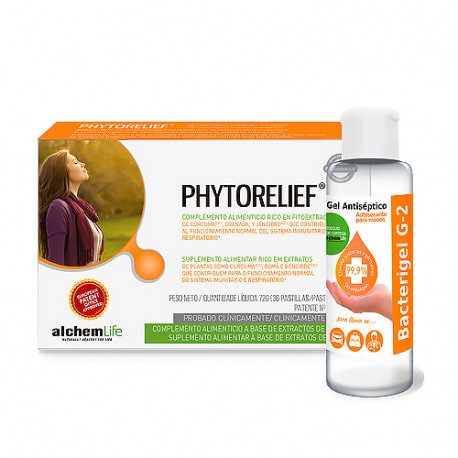 Alchemlife PhytoRelief 36 pastillas + Regalo Gel Hidroalcohólico 60ml
