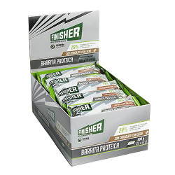Comprar Finisher Barrita Protéica Chocolate con Leche 20 unidades