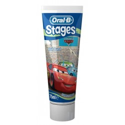Comprar Oral B Pasta Dental Infantil Stages Cars 75ml.