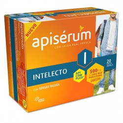 Comprar Apisérum Intelecto 500mg. 20 viales bebibles