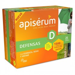 Apisérum Defensas 1500mg. 20 viales bebibles