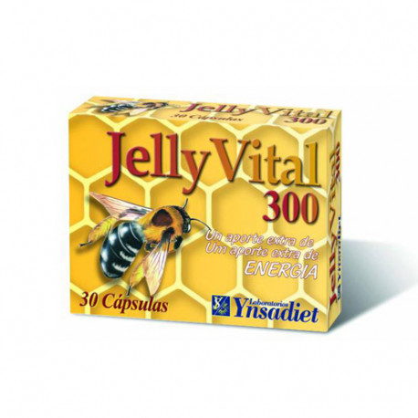 Jelly Vital Jalea Real 300mg 30 cápsulas