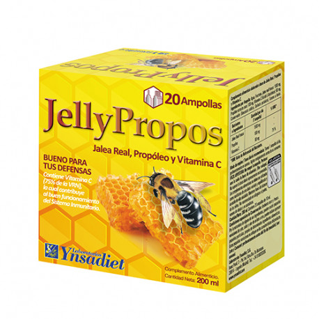 Jelly Propos con Jalea Real 1500mg 20 viales