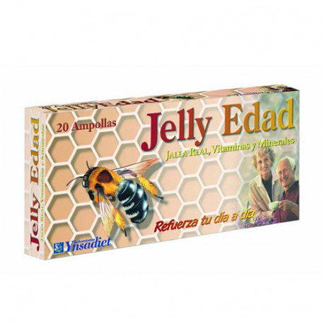 Jelly Edad con Jalea Real 500mg 20 ampollas