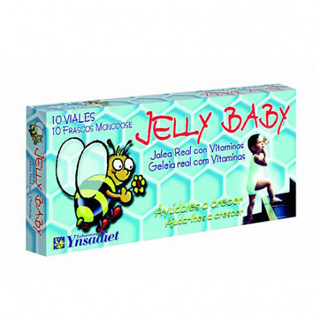Jelly Baby con Jalea Real 450mg 10 viales