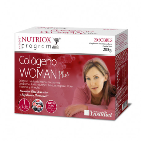 Nutriox Woman Plus Colágeno 20 sobres