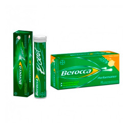 Comprar Berocca Performance Pack 30 Comp. Efervescentes + Berocca Boost 15 Comp.
