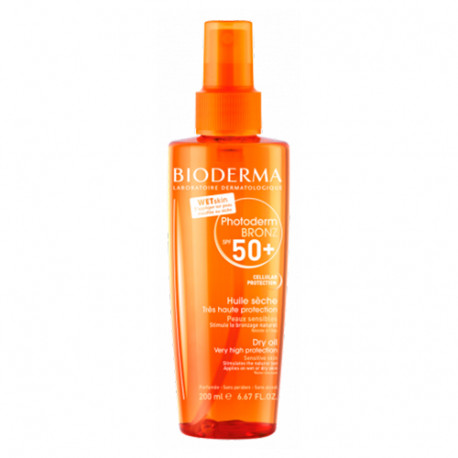 Bioderma Photoderm Aceite Seco SPF50+ 200 ml