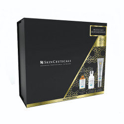 Comprar Skinceuticals Cofre Phloretin CF 30ml + Discoloration Defense Sérum 30ml + Advanced Brightening UV Defense SPF50 40ml
