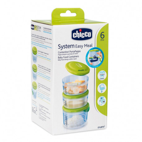 Chicco Easy Meal Recipientes Portapapilla