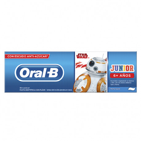 Oral B  Junior Star Wars Pasta Dental +6 Años 75ml
