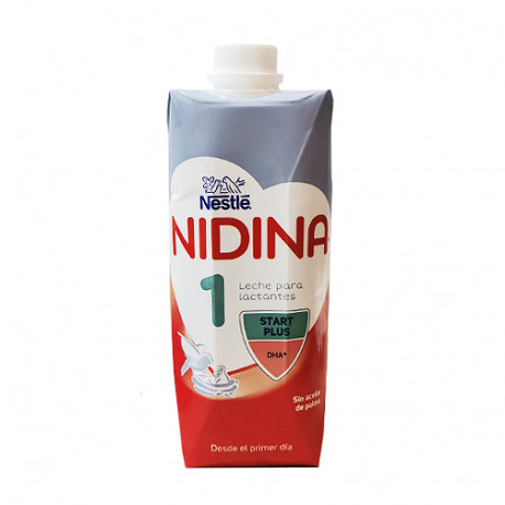 Nestle Nidina 1 Start Plus Líquida 500ml