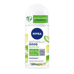 Comprar Nivea Naturally Good Desodorante Roll On Aloe Vera 50 ml