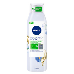 Comprar Nivea Naturally Good Gel de Ducha Algodón 500ml