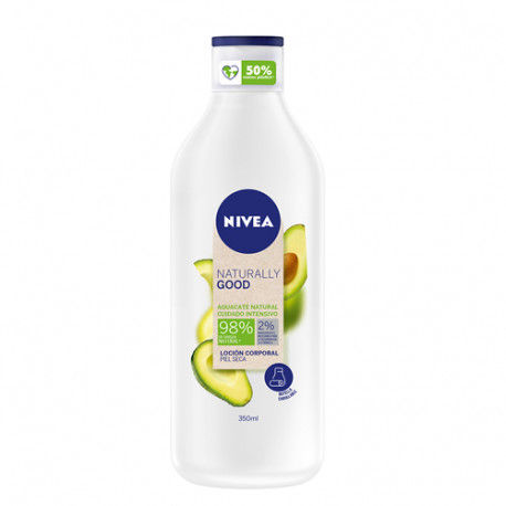 Nivea Naturally Good Loción Corporal Aguacate 350ml