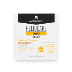 Comprar Heliocare 360º Color Cushion Compact SPF 50+  Bronze