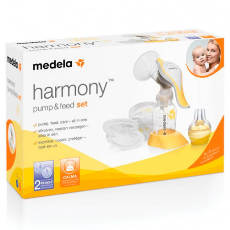 Medela Sacaleches Manual Harmony Pump & Feed Set